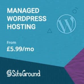 Website Hosting Siteground