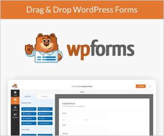 The Best Form Builder - WPForms