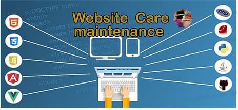 website care Maintenance