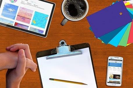 Building your website now enter your content