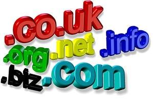 Website Hosting Domain Names