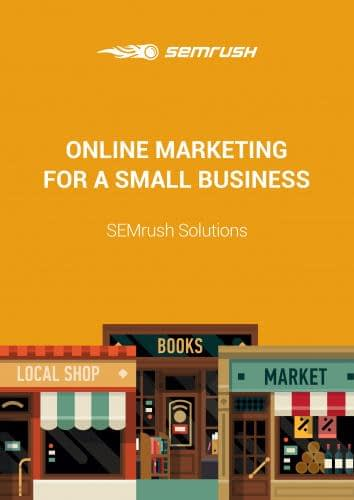 Online/Internet marketing for a small business eBook